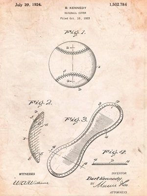 Baseball Cover - Tan