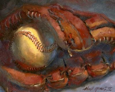 Baseball and Mitt