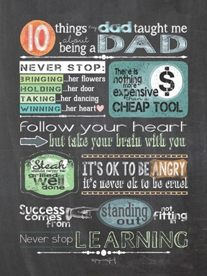 Reminders from Dad
