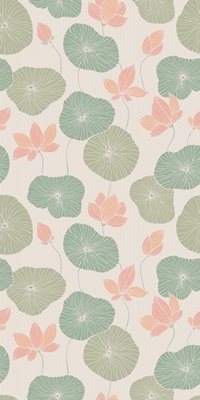 Vintage Lily Pad