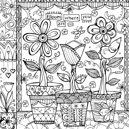 canvas on demand coloring pages - photo#11