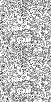 Thanksgiving Doodle I
