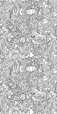 Thanksgiving Doodle II
