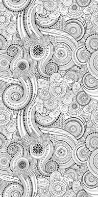 Circles and Swirls I