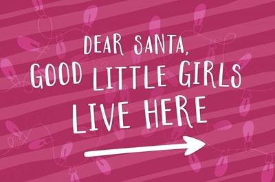 Good Little Girls - Red
