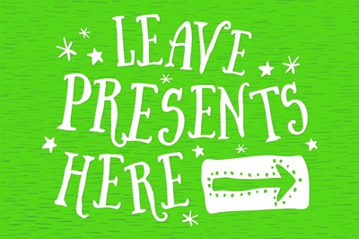 Leave Presents Here