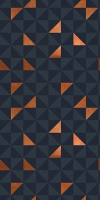Copper Triangles Navy