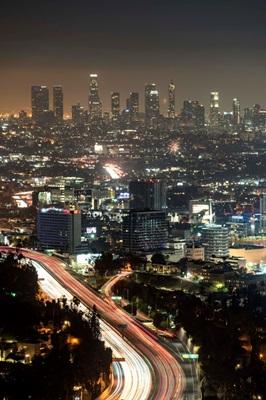 Los Angeles Aerial - Night