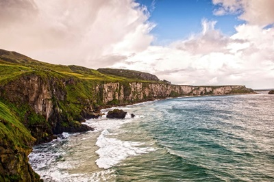 Clouds Over Cliffs of Moher, Ireland