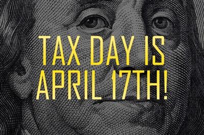 Ben Franklin - Tax Day