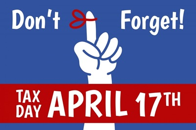 Don't Forget - Tax Day