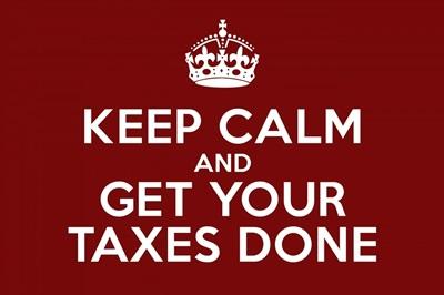 Keep Calm - Taxes