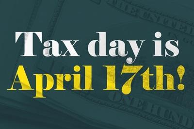 Money - Tax Day