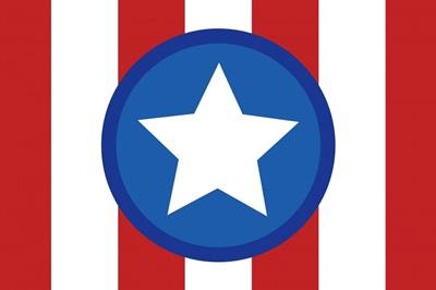 Patriotic - Circle Star