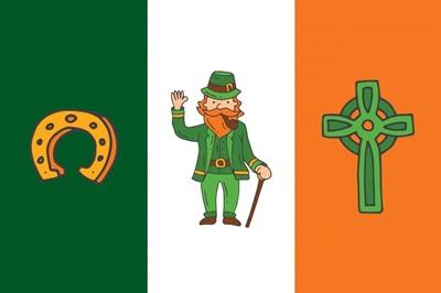St. Patrick's Day Flag I