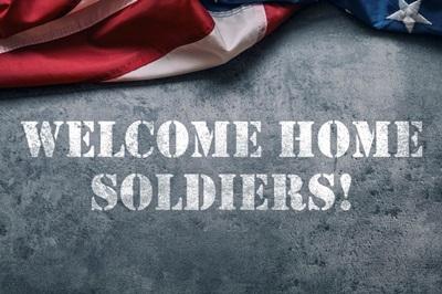 Welcome Home - Stencil