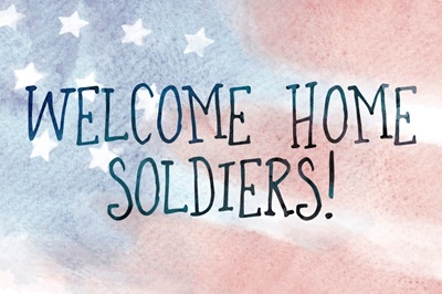Welcome Home - Watercolor