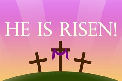 He Is Risen Sunrise