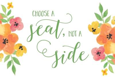 Choose A Seat - Warm