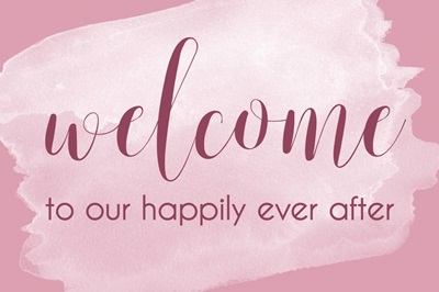 Welcome - Pink