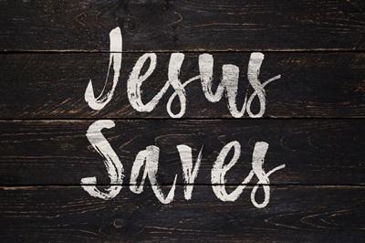 Christian - Jesus Saves - 2
