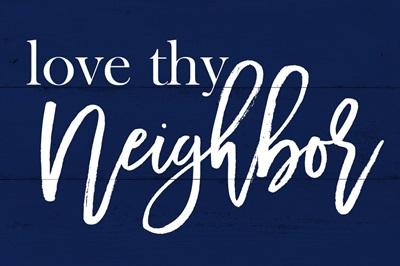 Christian - Love Thy Neighbor - Navy