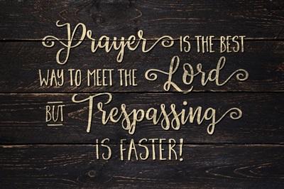 Christian - No Trespassing