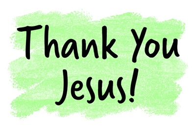 Christian - Thank You Jesus - Green