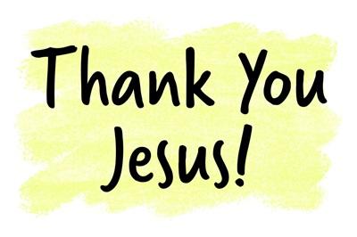 Christian - Thank You Jesus - Yellow