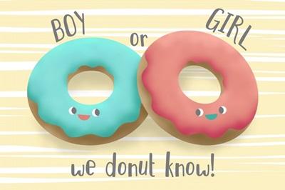 Gender Reveal - Donuts