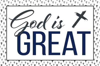 Christian - God is Great - Navy