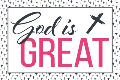 Christian - God is Great - Pink