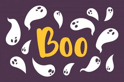 Halloween Decor Boo Ghosts