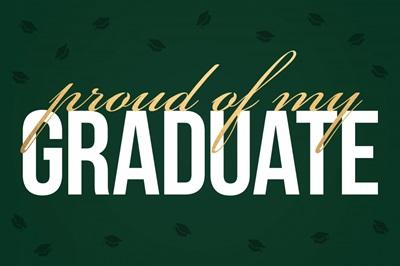 Graduation Yard Sign - Caps Off