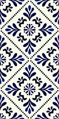Frida's Dream Blue