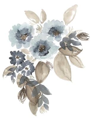 Blue & Chocolate Cascade II