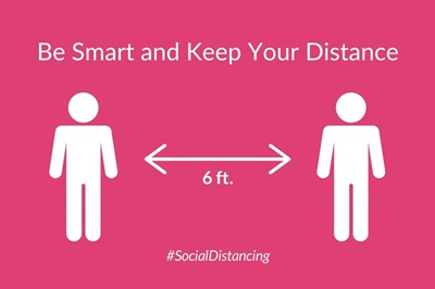 Be Smart And Keep Your Distance