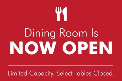 Dining Room Open - Red