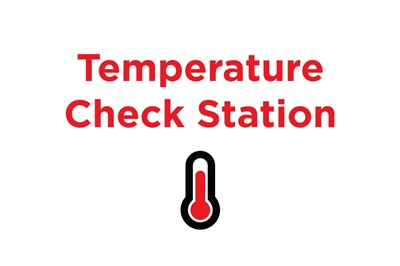 Temp Check Station