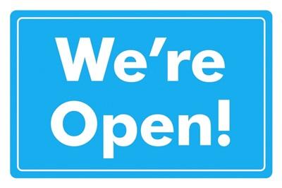 Were Open - Blue