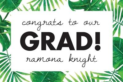 Congrats To Our Grad!