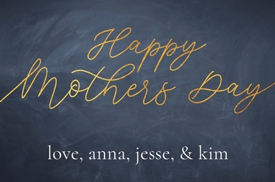 Happy Mother's Day - Chalkboard