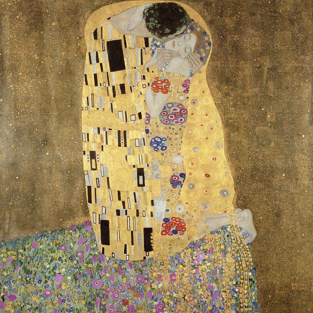 The Kiss, 1907 By Gustav Klimt