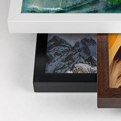 frame options for canvas prints