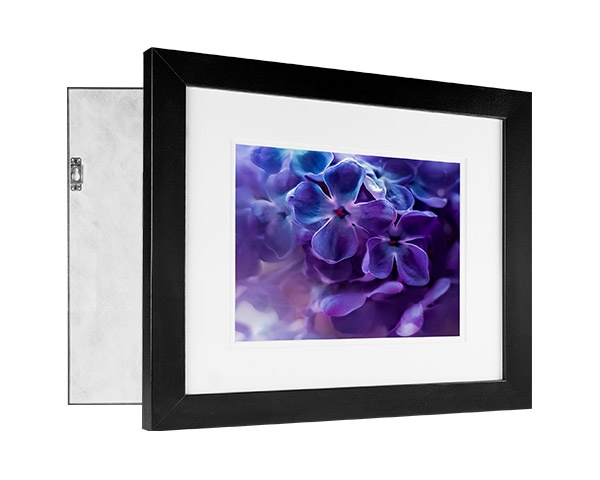 Custom printed photo on a framed print